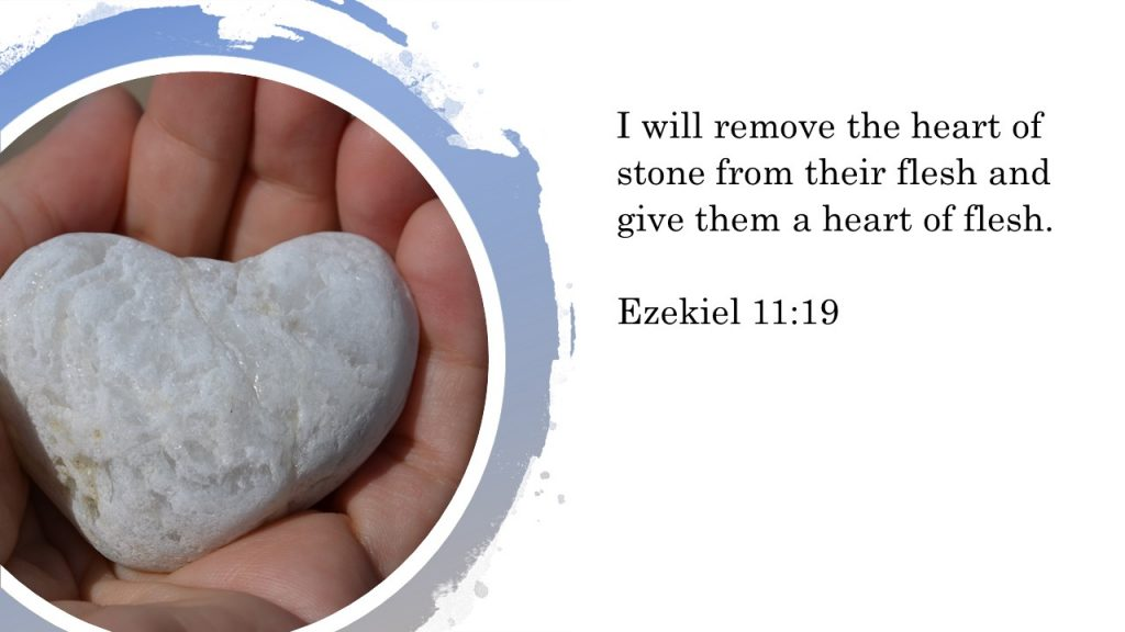 "Do you have a ""heart of stone""?"